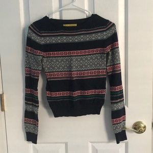 horizontal striped sweater